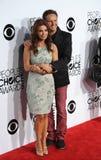 Mark Burnett & Roma Downey stock photo