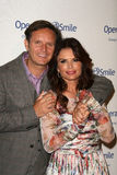Mark Burnett, Roma Downey, Mark Andes stock foto's