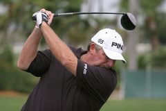Mark Calcavecchia Doral 2007 Royalty Free Stock Images