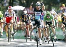Mark Cavendish Team Etixx - Quick Step Tour de France 2015 Stock Image