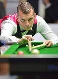 Mark Davis beat Neil Robertson 8-4 Stock Photos