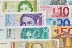 Mark - Euro Imagens de Stock