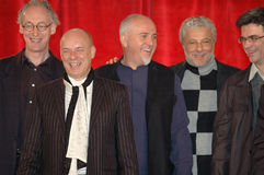 Mark Fisher, Brian Eno, Peter Gabriel, Andre Heller, Philippe Decoufle Lizenzfreies Stockfoto