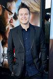 Mark Hoppus. At the Los Angeles premiere of 'Neighbors 2: Sorority Rising' held at the Regency Village Theatre in Westwood, USA on May 16, 2016 royalty free stock photos
