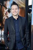 Mark Hoppus. At the Los Angeles premiere of 'Neighbors 2: Sorority Rising' held at the Regency Village Theatre in Westwood, USA on May 16, 2016 stock image