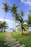 Mark Island Beach at Trat. On Clear Sky, Thailand Royalty Free Stock Photos