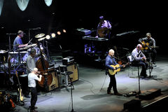 Mark Knopfler in concert 5-3-2013 Stock Images