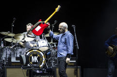 Mark Knopfler live Royalty Free Stock Image