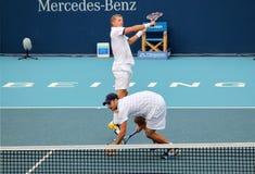 Mark Knowles και Andy Roddick Στοκ Εικόνα