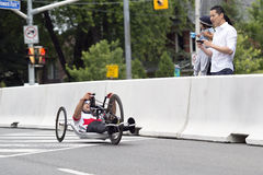 Mark Ledo Gold Medalist ParaPan Am Games - Toronto August 8, 2015 Stock Photography