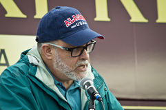 Mark Levin 2. Mark Levin gives a speech at a Tea Party rally for Steve Lonegan Stock Photo