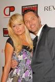 Mark Liddell, Paris Hilton, 10 ans Photos stock