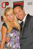 Mark Liddell,Paris Hilton,10 Years. Paris Hilton and Mark Liddell  at the debut of Mark Liddell's Exposed: 10 Years In Hollywood,  Lloyd Wright's Sowden House Stock Photos