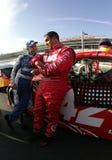 Mark Martin e Juan Pablo Montoya Fotos de Stock Royalty Free