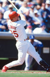 Mark Mc Gwire St. Louis Cardinals Stock Photo