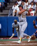 Mark McGwire, Oakland A Photographie stock