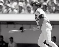 Mark McGwire, Oakland Athletics fotos de stock royalty free
