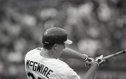 Mark McGwire, Oakland Athletics imagem de stock