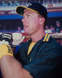 Mark McGwire, Oakland A's Royalty-vrije Stock Afbeelding