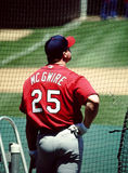Mark McGwire, St. Louis Cardinals Royalty Free Stock Images