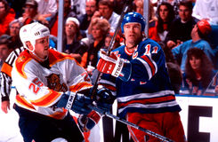 Mark Messier Foto de Stock Royalty Free
