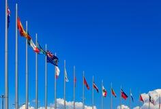 mark międzynarodowym obrazy stock