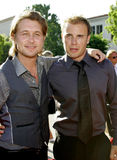 Mark Owen and Gary Barlow Stock Image