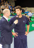 Mark Philippoussis (r.) at Zurich Open 2012 Stock Photos