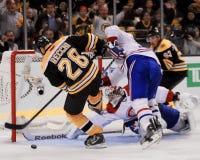 Mark Recchi, Boston Bruins in avanti Fotografia Stock