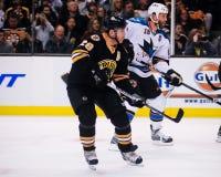 Mark Recchi, Boston Bruins en avant Image stock