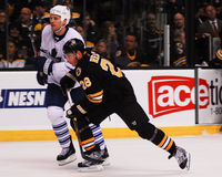 Mark Recchi, Boston Bruins forward. Royalty Free Stock Photography
