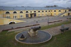 Mark Rothko Art Centre in Daugavpils-Festung lizenzfreies stockbild