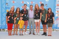 Mark Ruffalo al Giffoni Film Festival 2015 Fotografia Stock Libera da Diritti