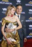 Mark Ruffalo en Zonsopgang Coigney Royalty-vrije Stock Fotografie