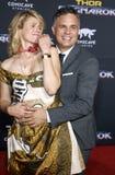 Mark Ruffalo en Zonsopgang Coigney Royalty-vrije Stock Foto