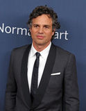 "Mark Ruffalo. Film and stage actor Mark Ruffalo arrives on the red carpet for the New York premiere of ""The Normal Heart, "" at the Ziegfeld Theatre in New Royalty Free Stock Images"