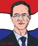 Mark Rutte, ολλανδικός πολιτικός, πρωθυπουργός των Κάτω Χωρών από το 2010, ηγέτης του κόμματος ανθρώπων ` s για την ελευθερία και Στοκ Φωτογραφίες