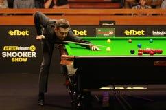 Mark Selby van Engeland neemt aan snooker deel toont de Elf 30 Reeksen royalty-vrije stock foto's