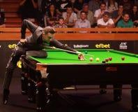 Mark Selby van Engeland neemt aan snooker deel toont de Elf 30 Reeksen stock afbeelding
