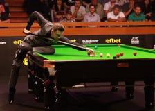 Mark Selby van Engeland neemt aan snooker deel toont de Elf 30 Reeksen stock foto's