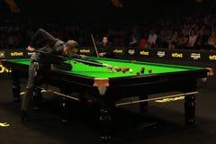 Mark Selby van Engeland neemt aan snooker deel toont de Elf 30 Reeksen 2016 royalty-vrije stock foto's