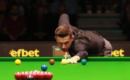 Mark Selby von England nimmt an der Snookershow die elf 30 Reihen 2016 teil Stockbilder