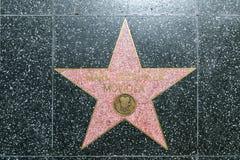Mark Serrurier Moviola's star on Stock Image