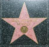 Mark Serrurier Moviola's star on Stock Photo