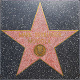 Mark Serrurier Moviola`s star on Hollywood Walk of Fame Royalty Free Stock Photo