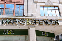 MARK & SPENSER Stock Images