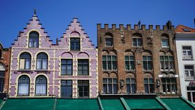 Mark Square, Bruges, Belgio Immagine Stock Libera da Diritti