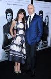 Mark Strong y Liza Marshall Fotografía de archivo libre de regalías