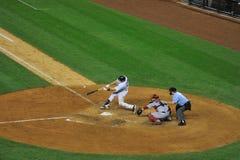 Mark Teixeira hits a home run Stock Photo