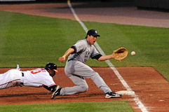 Mark Teixeira, New York Yankees first baseman. Stock Photos